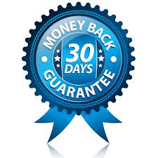 30 days money back Policy